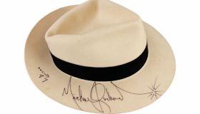 Michael Jackson signed Smooth Criminal hat