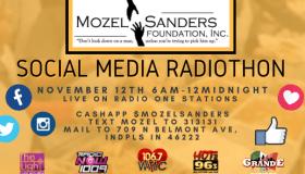 Mozel Sanders Foundation Social Media Telethon