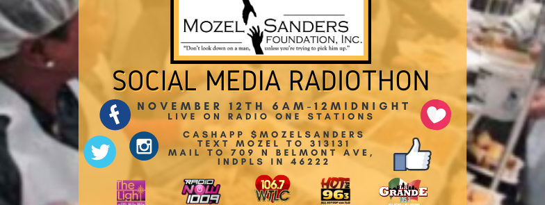 Mozel Sanders Foundation Social Media Telethon