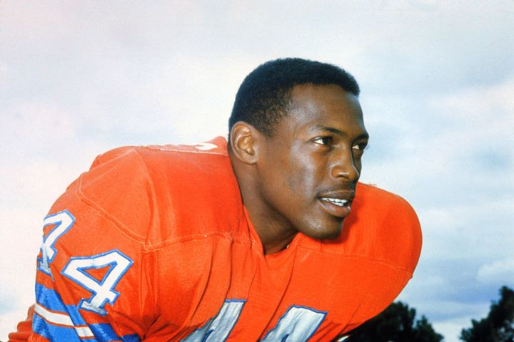 Football Hall of Fame Running Back Floyd Little
