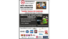 Indianapolis Urban League Food and Meal Distribution