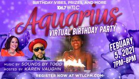 Virtual Capricorn Birthday Party