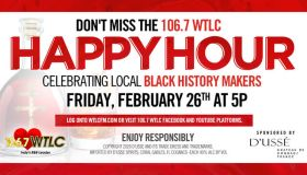 Check Out The 106.7 WTLC Happy Hour Brought To You By D'usse