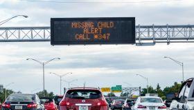 Miami, Interstate I-95, missing child alert