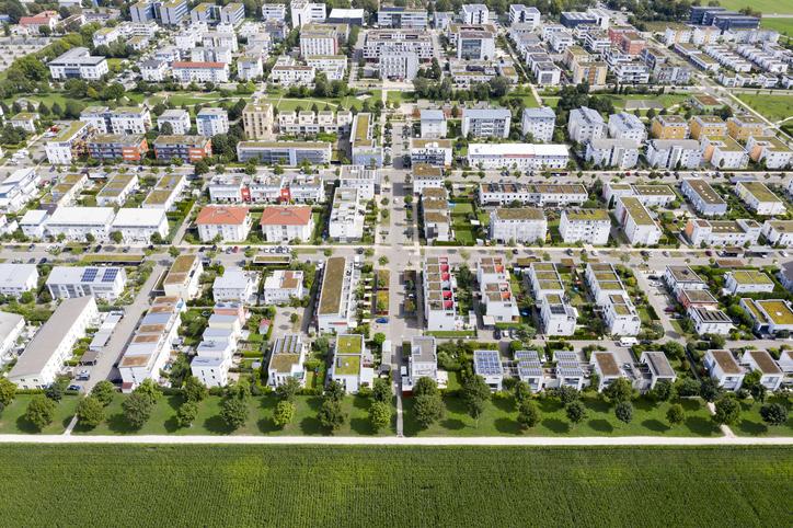 Housing Development from Above