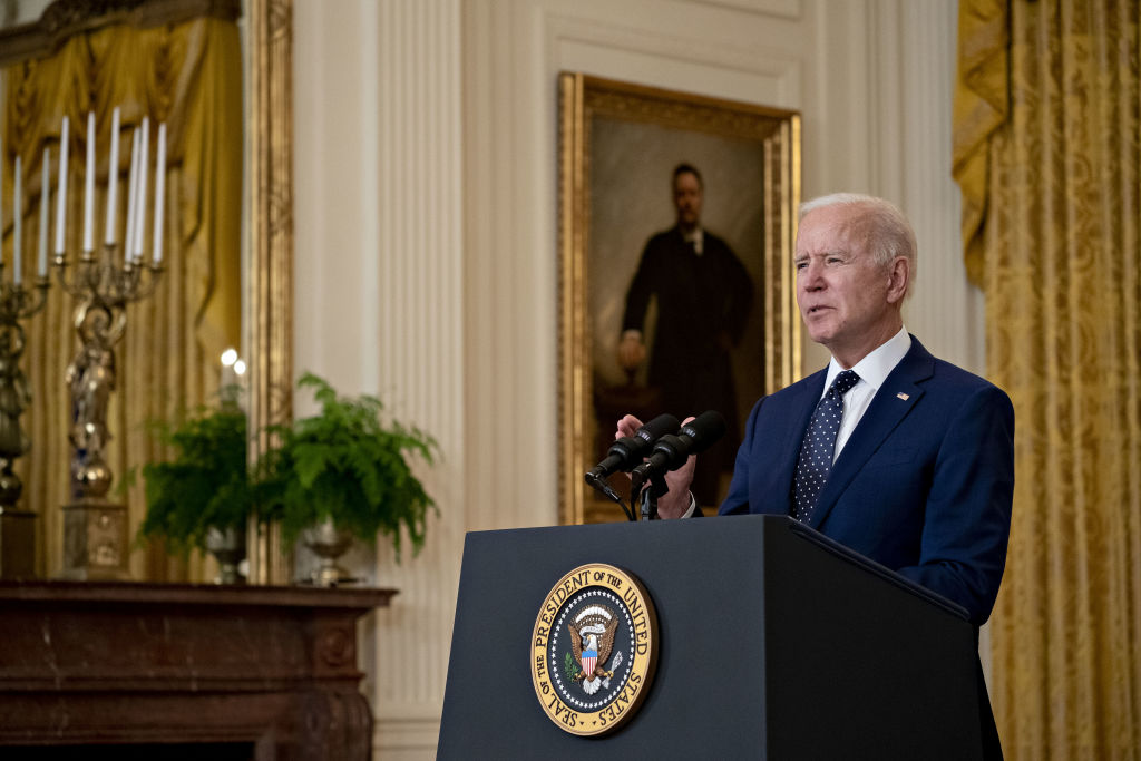 President Biden Delivers Remarks On Russia