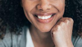 Portrait of beautiful afro woman