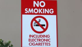 Signs: No Smoking Including Electronic Cigarettes