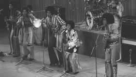 The Jackson 5 Perform At The 1972 Royal Variety Performance