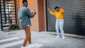 Dancing for the social media