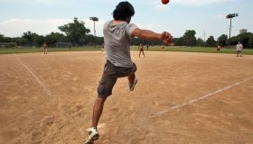Kickball, once the sport of grade-school recess, is back in fashion among young adults. The Minneapolis Park Board sponsors 19 kickball leagues of various talent and intensity levels, including the CoEd Sunday Recreational league. We photographed a recent