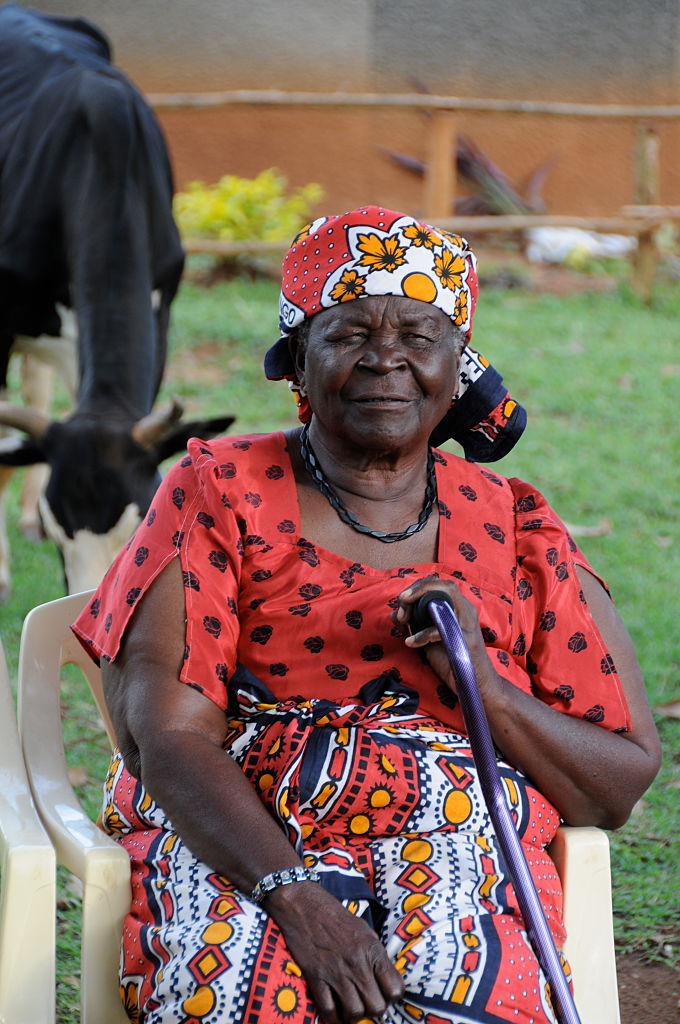 Sarah Obama, paternal step-grandmother of Barack Obama, 99