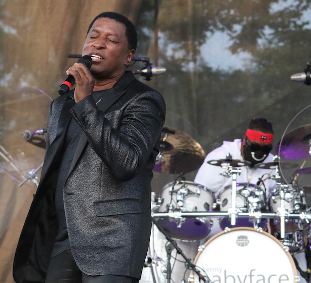 Babyface At the Indy State Fair