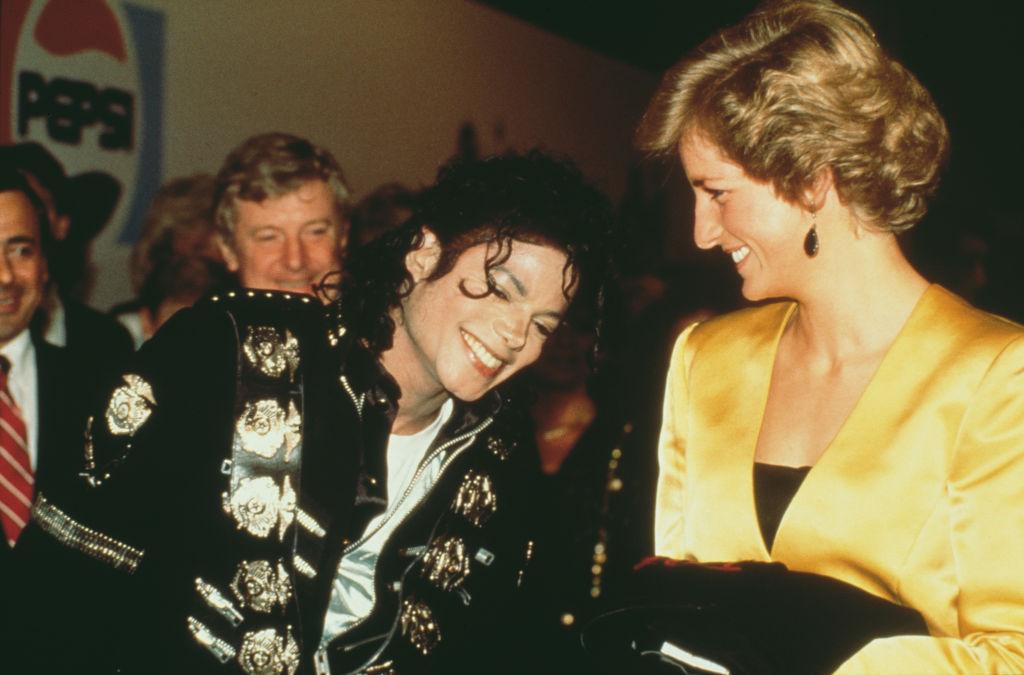 Diana And Michael Jackson