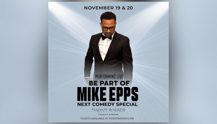 Mike Epps at the Walker Theatre