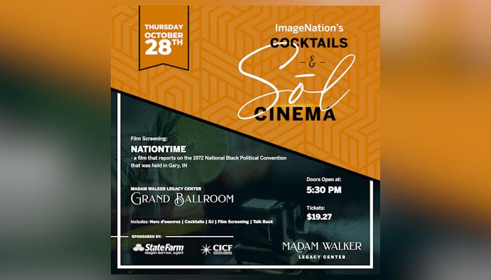 Image Nation's Cocktails & Sōl Cinema Series